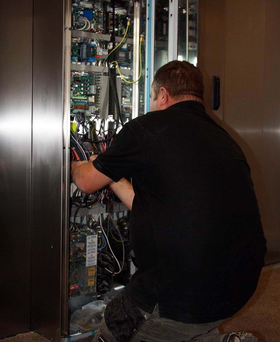 Lift repair technician
